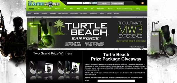 Turtlebeach Holiday Give Away