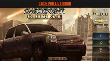 Custom Brand Game: Chevy Checkpoint Chase