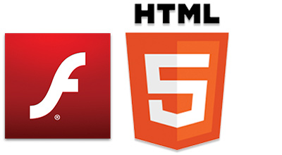 HTML5 and Flash Player