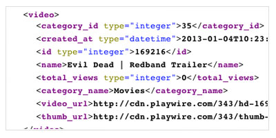Playwire API