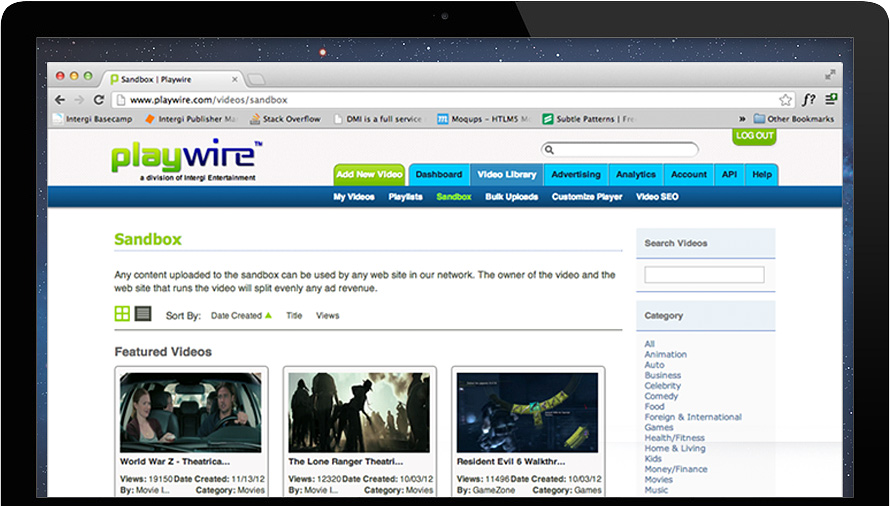 Playwire Video Publishing Platform