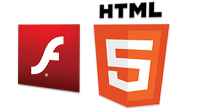 Flash and HTML5 Video Player